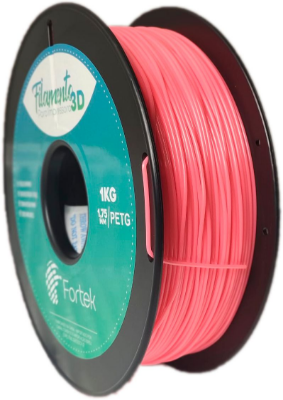 Filamento Pet-g 1,75 Mm 1kg - Laranja Florescente (Fluorescent Orange)
