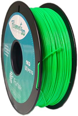 Filamento Pet-g 1,75 Mm 1kg - Verde Brilhante (Glowing Green)