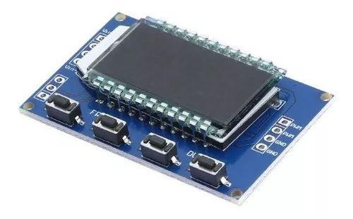 MODULO GERADOR DE PWM COM LCD 1HZ A 150KHZ 3.3V A 30V