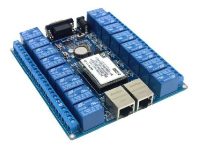 Kit Central De Automação Wireless Ethernet 16 Canais