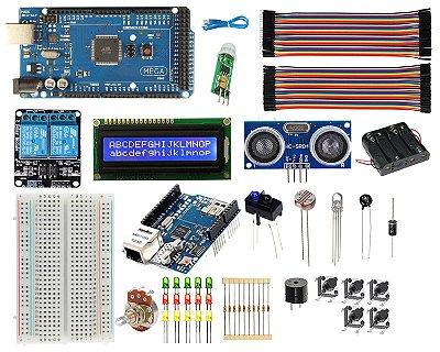 Kit Mega CH340 Automação Residencial - Ethernet / Wifi Compatível Com Arduino
