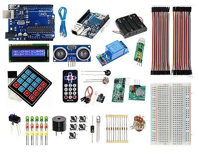 Kit Uno R3 Automação Residencial - Ethernet Compatível Com Arduino