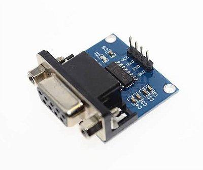 Módulo DB9 Conversor MAX232 RS232 TTL Serial