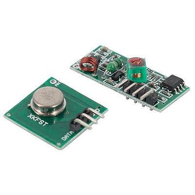 Módulo RF Transmissor + Receptor 433Mhz AM