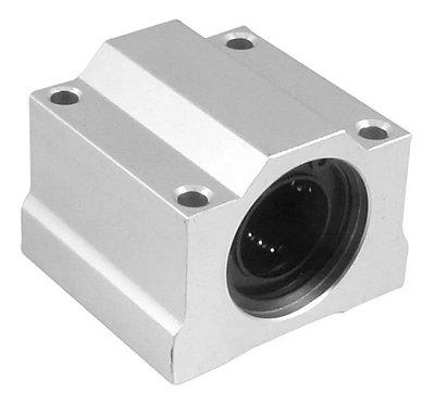 Pillow Block 12mm Com Rolamento Linear Scs12uu Cnc 3d