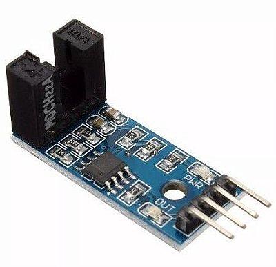 Sensor De Contagem Chave Óptica Para Encoder 5MM