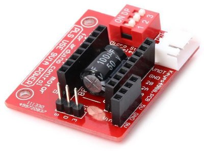 Shield Stepper Motor Para  A4988 / DRV8825