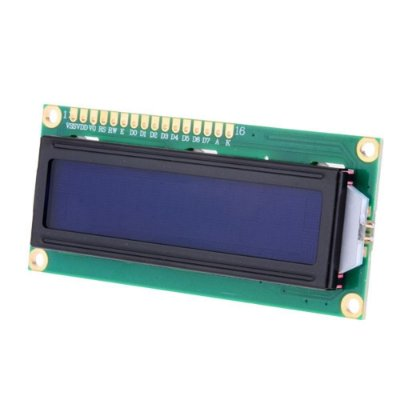 DISPLAY LCD 16X2 C/ BLACKLIGHT AZUL