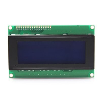 DISPLAY LCD 20X4 C/ BLACKLIGHT AZUL