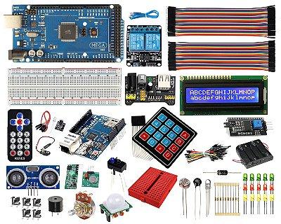 Kit Mega CH340 Master - Automação Residencial Iniciante Compatível Com Arduino