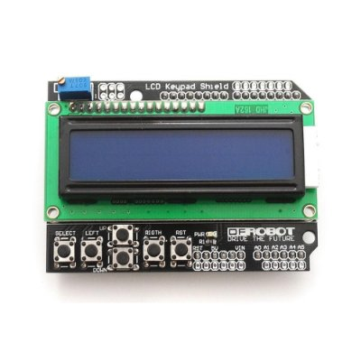 DISPLAY LCD SHIELD COM TECLADO 16X2 COM KEYPAD