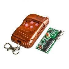 Módulo Receptor RF Com Controle Remoto 315MHz
