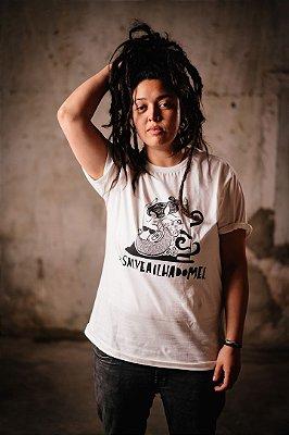 Camiseta Sereia - Ilha do Mel (CRU)