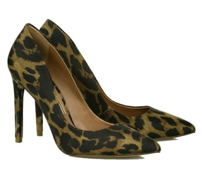 Scarpin Classic Leopard Uza