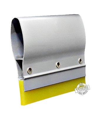 Rodo de Poliuretano Cabo de Alumínio 70sh Amarelo