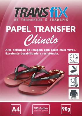 Papel Transfer Chinelo Transfix