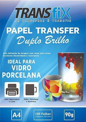 Papel Transfer Duplo Brilho Transfix 90g