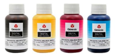 Kit Tinta Digital Sublidesk DS.7000 Gênesis