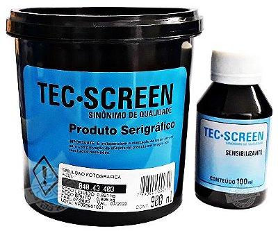 Emulsão Azul Base Solvente Tec Screen + Sensibilizante Bicromato