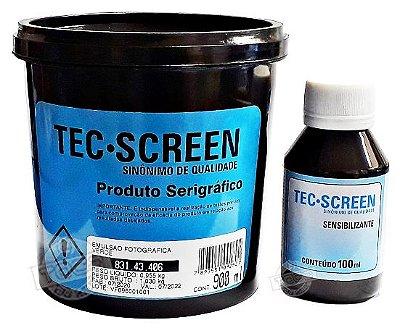 Emulsão Verde Base de Água Tec Screen + Sensibilizante Bicromato