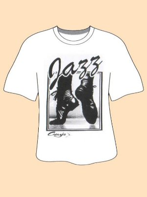 Camiseta Jazz Capezio - P Adulto