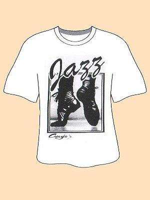 Camiseta Jazz Capezio - P Adulto