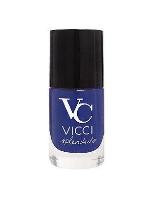 Esmalte Azul Royal Vicci Splendido