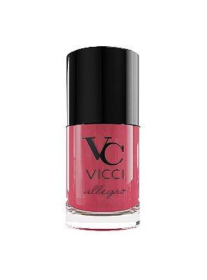 Esmalte para unhas Rosa Coral Allegro com Vitamina E e Óleo de Argam