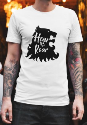 Camiseta Masculina - Hear Me Roar