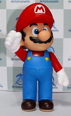 Bonecos Articulados - Mario e Luigi