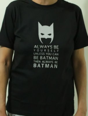 Camiseta Feminina - Always be Batman