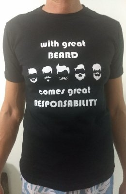 Camiseta Great Beard