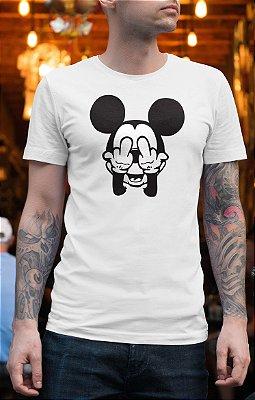Camiseta Mickey Dedos