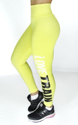 Calça Legging Suplex Fit com Silk