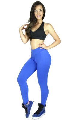 Calça Legging Lisa Suplex Power Fitness