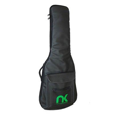 Bag Eco Couro Sintético Preto Guitarra NewKeepers
