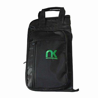 Capa Bag Baquetas 24 Pares MaxiPro Preto NewKeepers