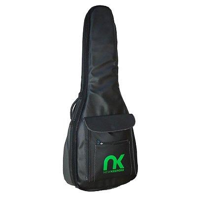 Capa Bag Violão Clássico Couro Sintético Preto NewKeepers