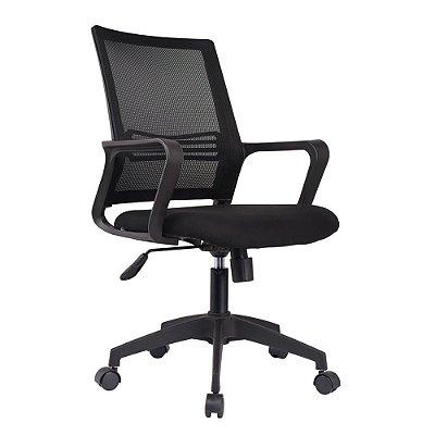Cadeira Giratória Escritório Com Base em Nylon Resistente Marca Akordar
