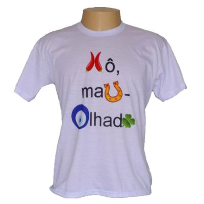 Camiseta masculina Xo mau olhado