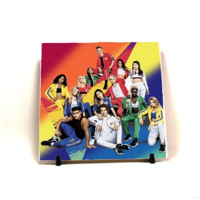 Azulejo decorativo Banda Now United