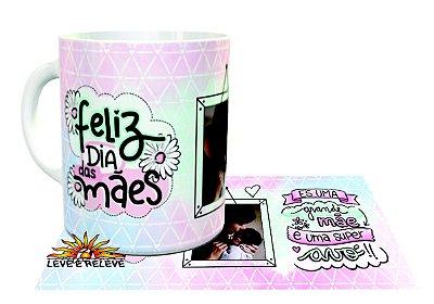 Caneca Fofura com foto Dia das Mães