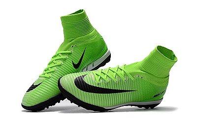 be0000beb0 Nike Mercurial Superfly Society - verde limão