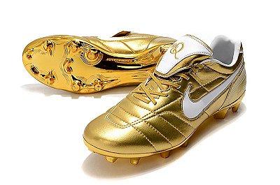 391360205a66e Nike Tiempo R10 Society - dourada - superfut