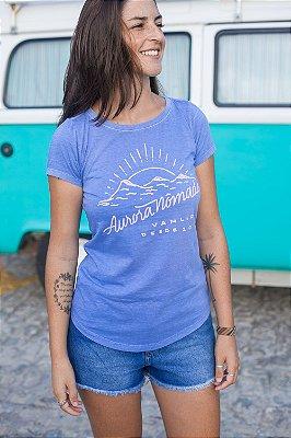 Camiseta Aurora Nômade Azul