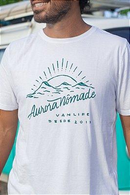 Camiseta Aurora Nômade Branca