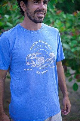 Camiseta Proibido Estacionar na Vida Azul