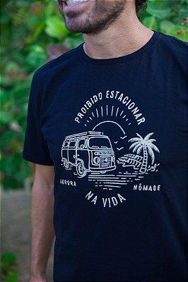 Camiseta Proibido Estacionar na Vida Preta