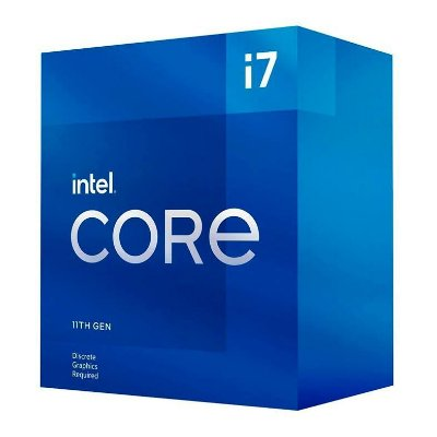 PROCESSADOR INTEL CORE I7-11700F OCTA-CORE 2.5GHZ (4.9GHZ TURBO) 16MB CACHE LGA1200, BX8070811700F