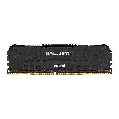MEMÓRIA CRUCIAL BALLISTIX SPORT LT 8GB (1X8) 3200MHZ DDR4, BL8G32C16U4B